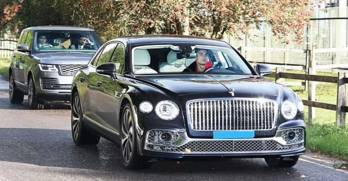 Cristiano Ronaldo İngiltere de benzin kuyruğunda #1