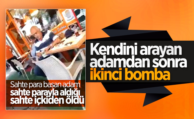 Ankara'da sahte para basan çetenin yöneticisi sahte içkiden öldü