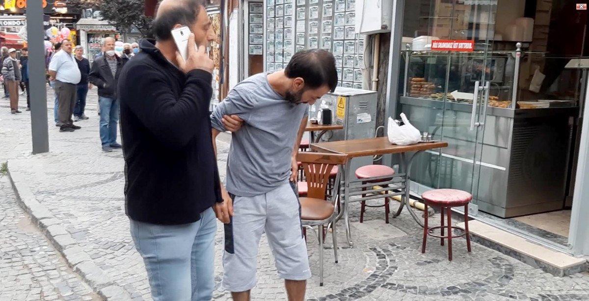 Edirne de kardeş ağabeyini yaraladı  #8