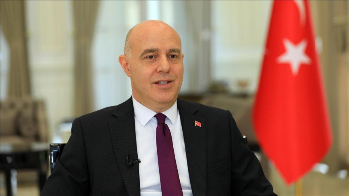 Irak Büyükelçisi Ali Rıza Güney in  eve dönüş  paylaşımı #1