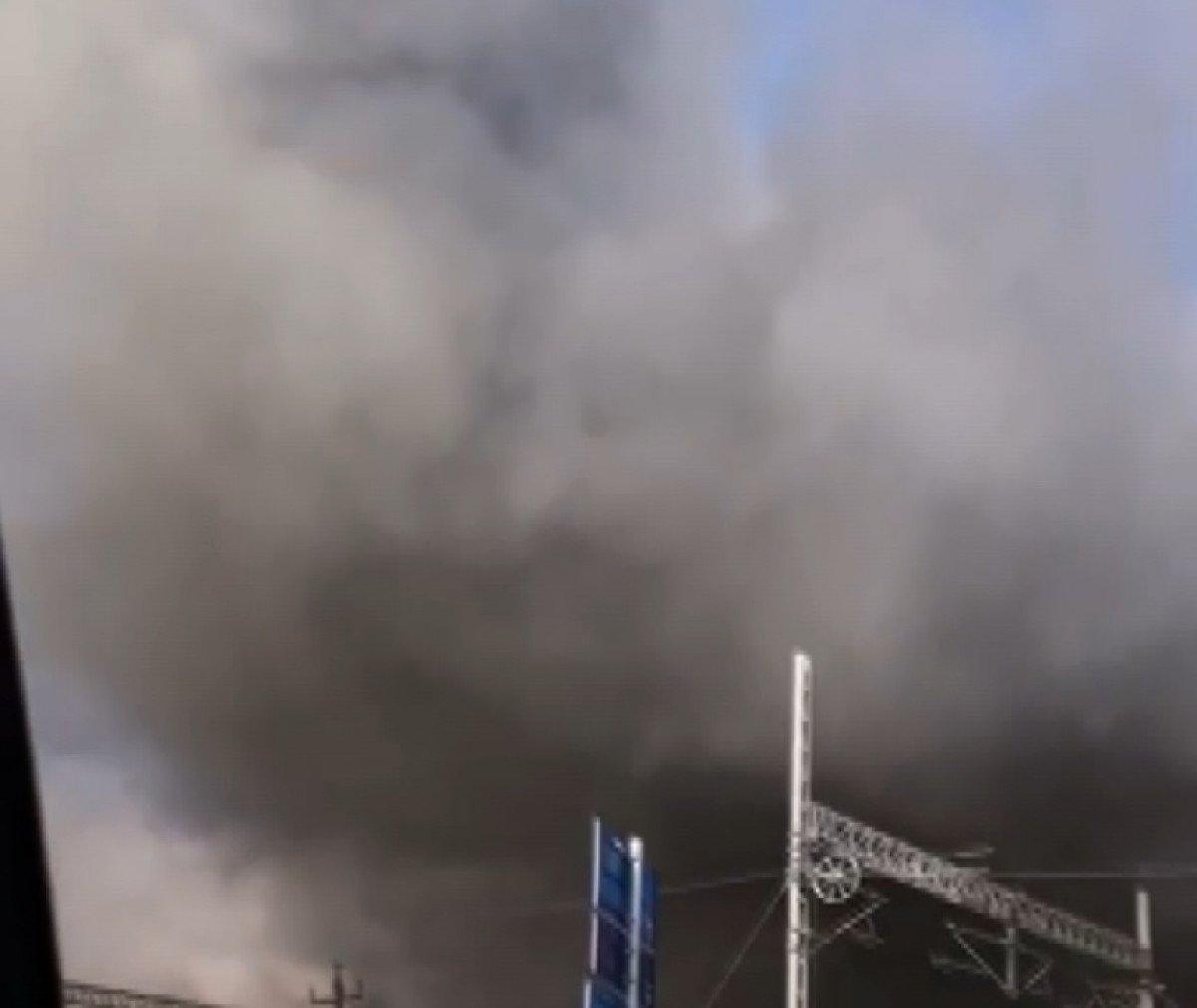 Tuzla da fabrikada yangın meydana geldi  #4