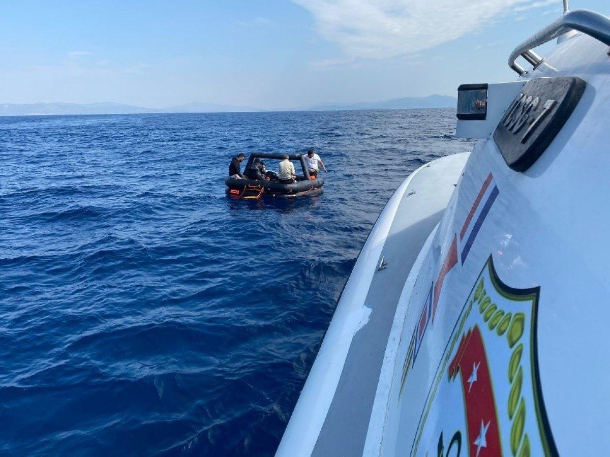 Aydın da Yunanların ölüme terk ettiği 60 göçmen kurtarıldı #1
