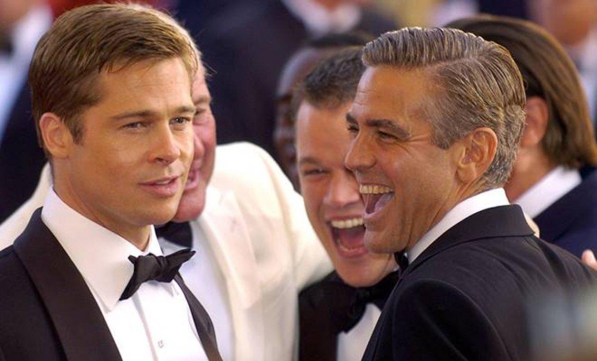 George Clooney ve Brad Pitt yeni filmde buluşacaklar #1