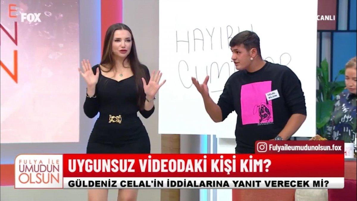 Canlı yayında karısının olduğunu iddia ettiği cinsel içerikli videoyu izletti #7