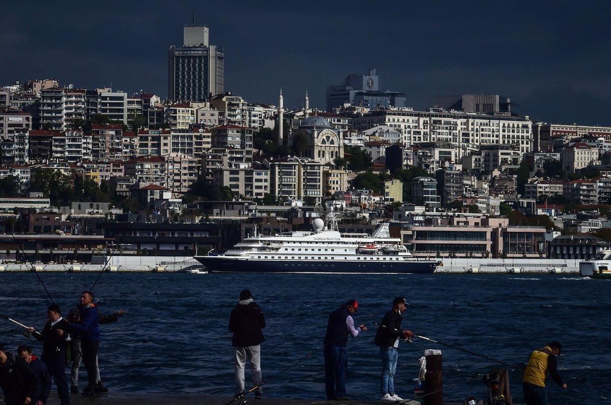 Galataport İstanbul ilk yolcu gemisi ağırlıyor #5