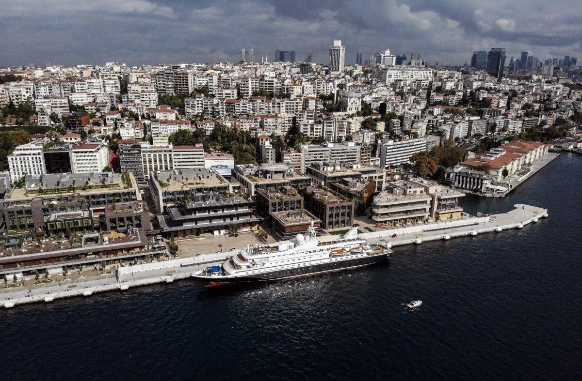 Galataport İstanbul ilk yolcu gemisi ağırlıyor #1