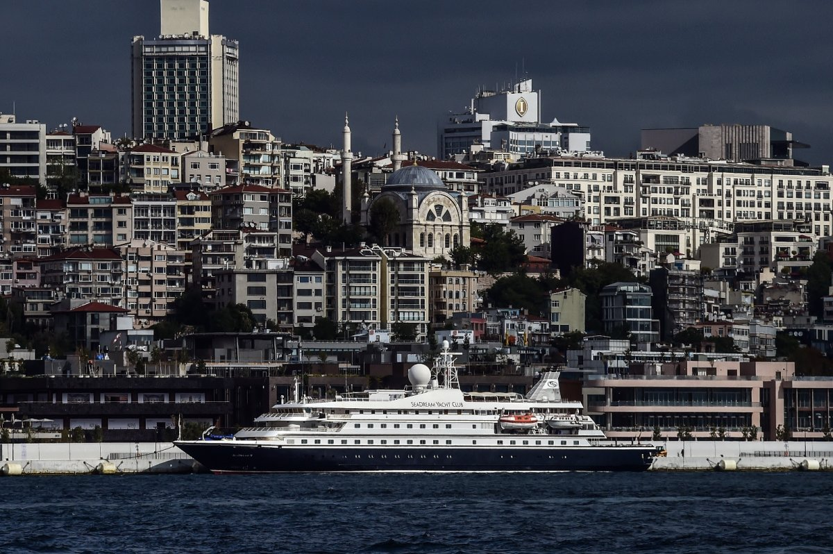 Galataport İstanbul ilk yolcu gemisi ağırlıyor #2
