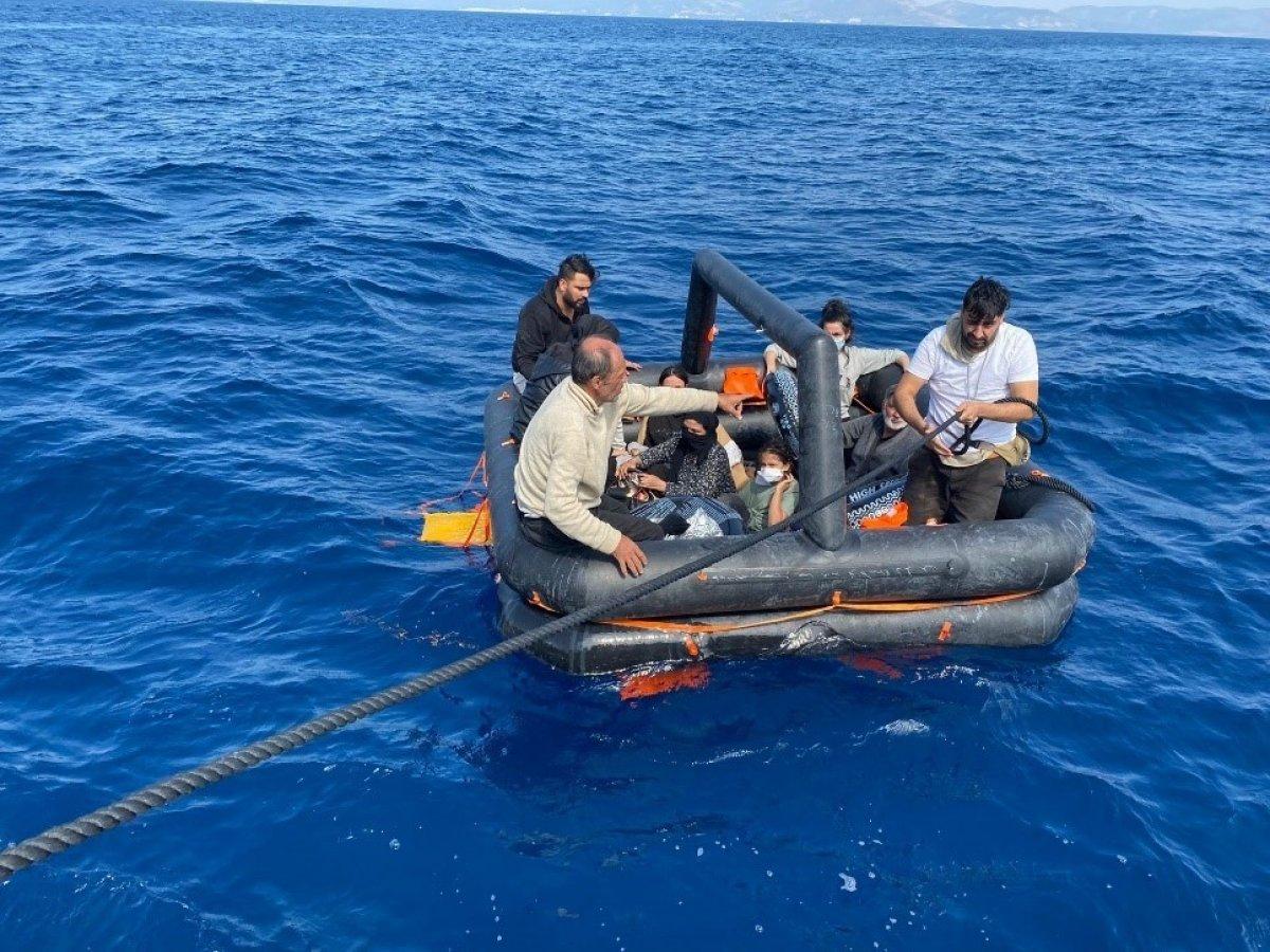 Aydın da Yunanların ölüme terk ettiği 60 göçmen kurtarıldı #4