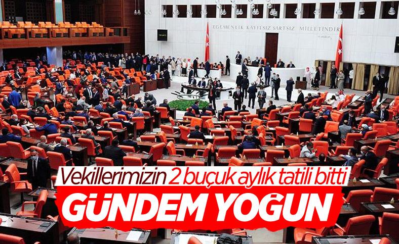 Meclis bugün açılıyor