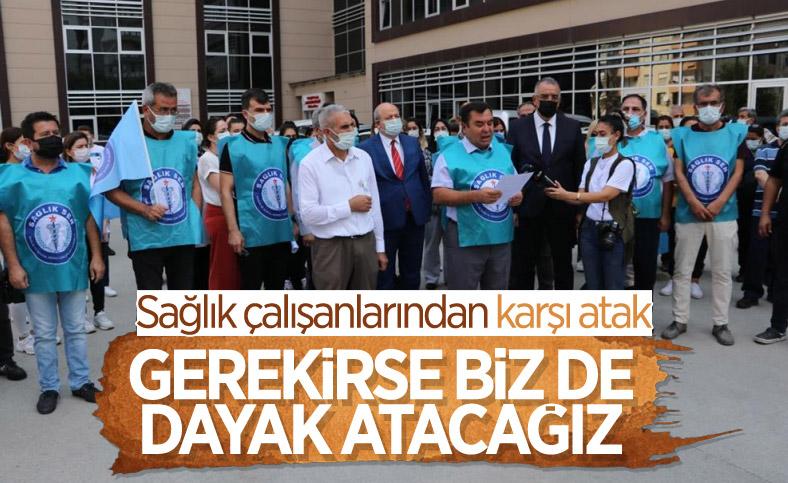 Adana'da sağlık çalışanları darbedildi