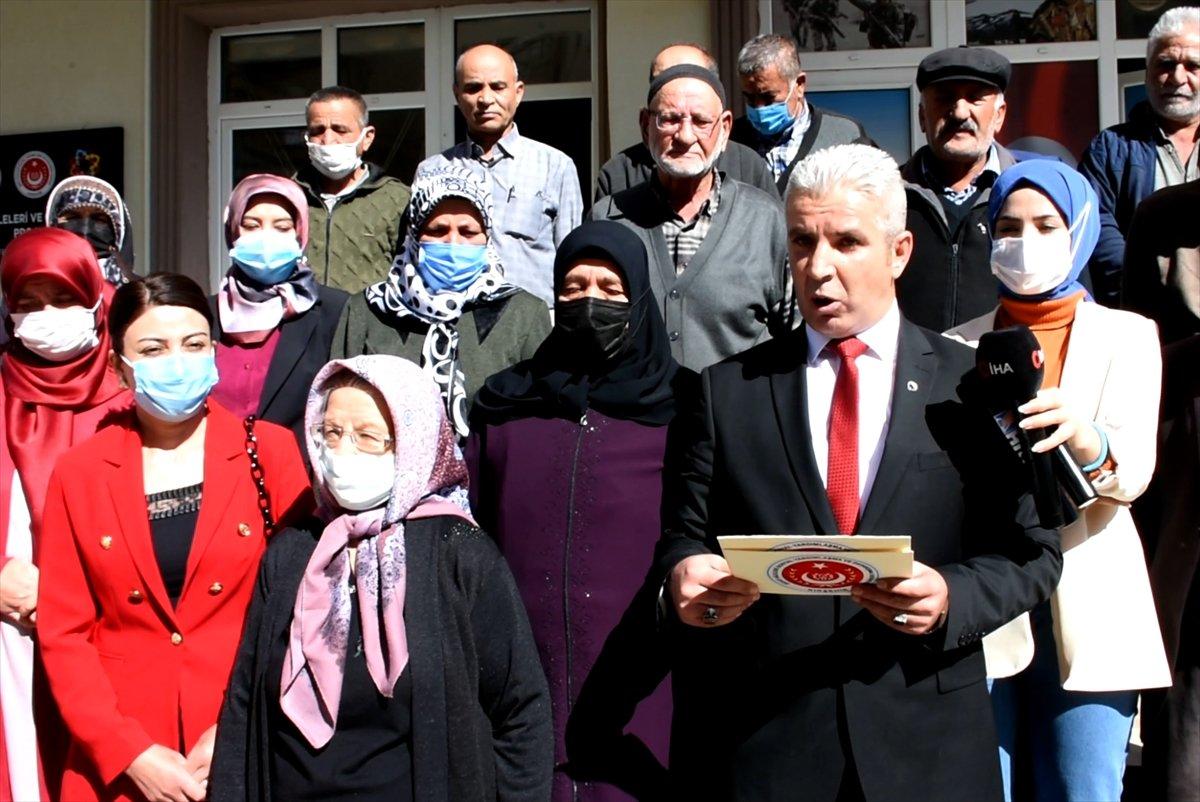 Kırşehir de şehit aileleri, terörist sevici CHP li vekile tepki gösterdi #1