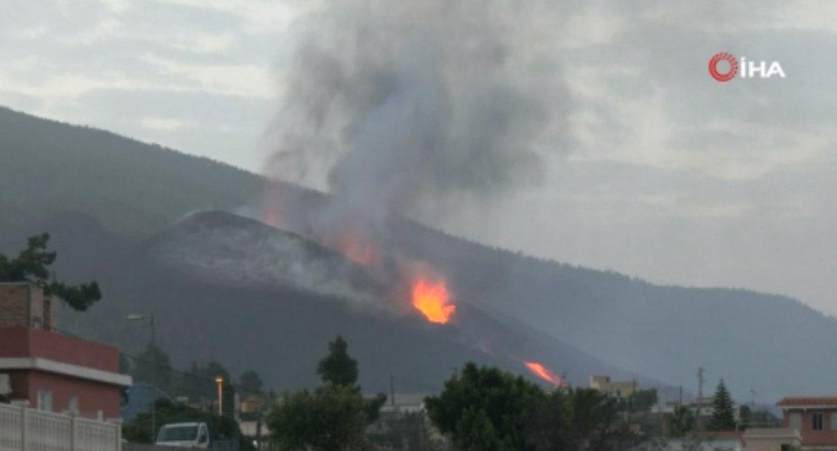 Erupción volcánica en España: la lava continúa fluyendo hacia el océano # 2