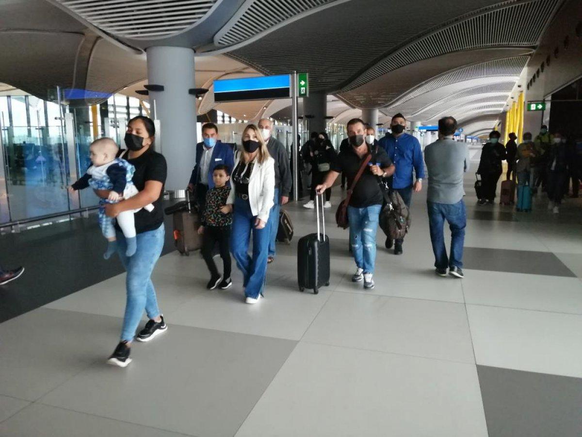 Dünyanın en büyük uçağından İstanbul a ilk sefer #4