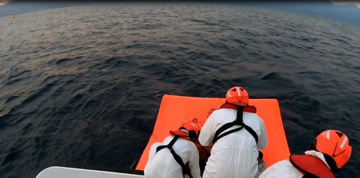Aydın da Yunanların ölüme terk ettiği 60 göçmen kurtarıldı #2