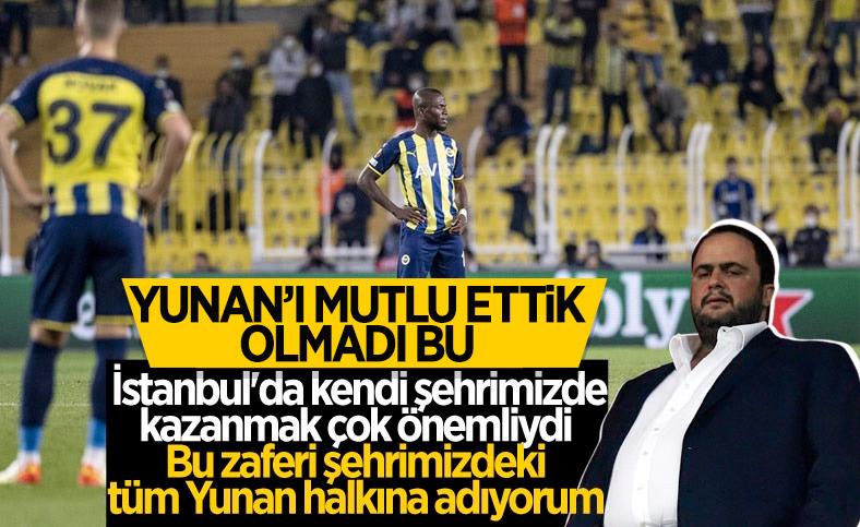 Olympiakos'un sahibi: Kendi şehrimizde kazandık