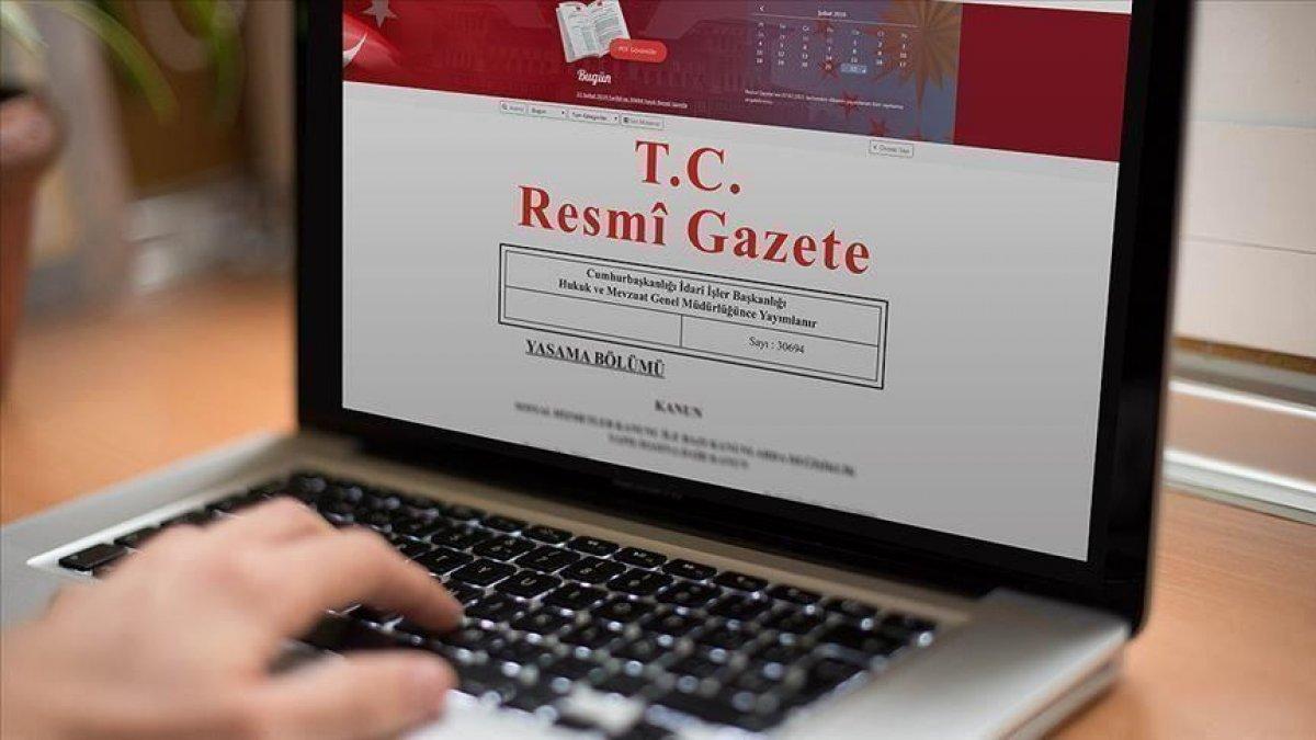 Atama kararları Resmi Gazete de yayınlandı #1