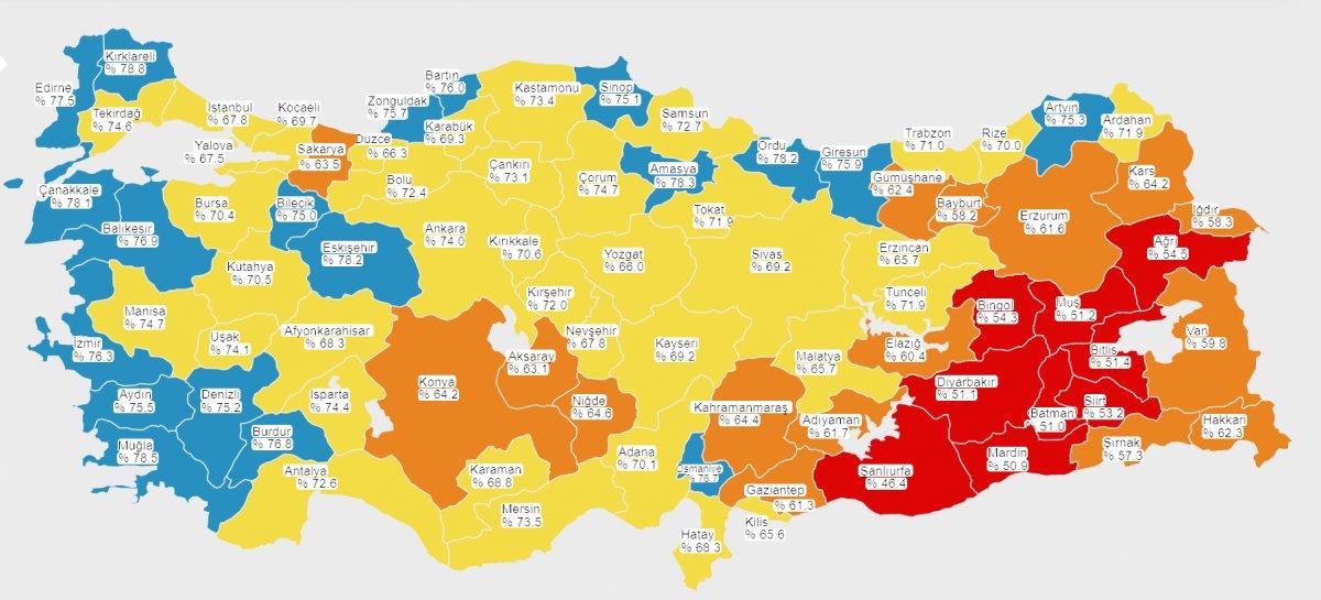 Türkiye de uygulanan aşı miktarı 110 milyonu aştı #1