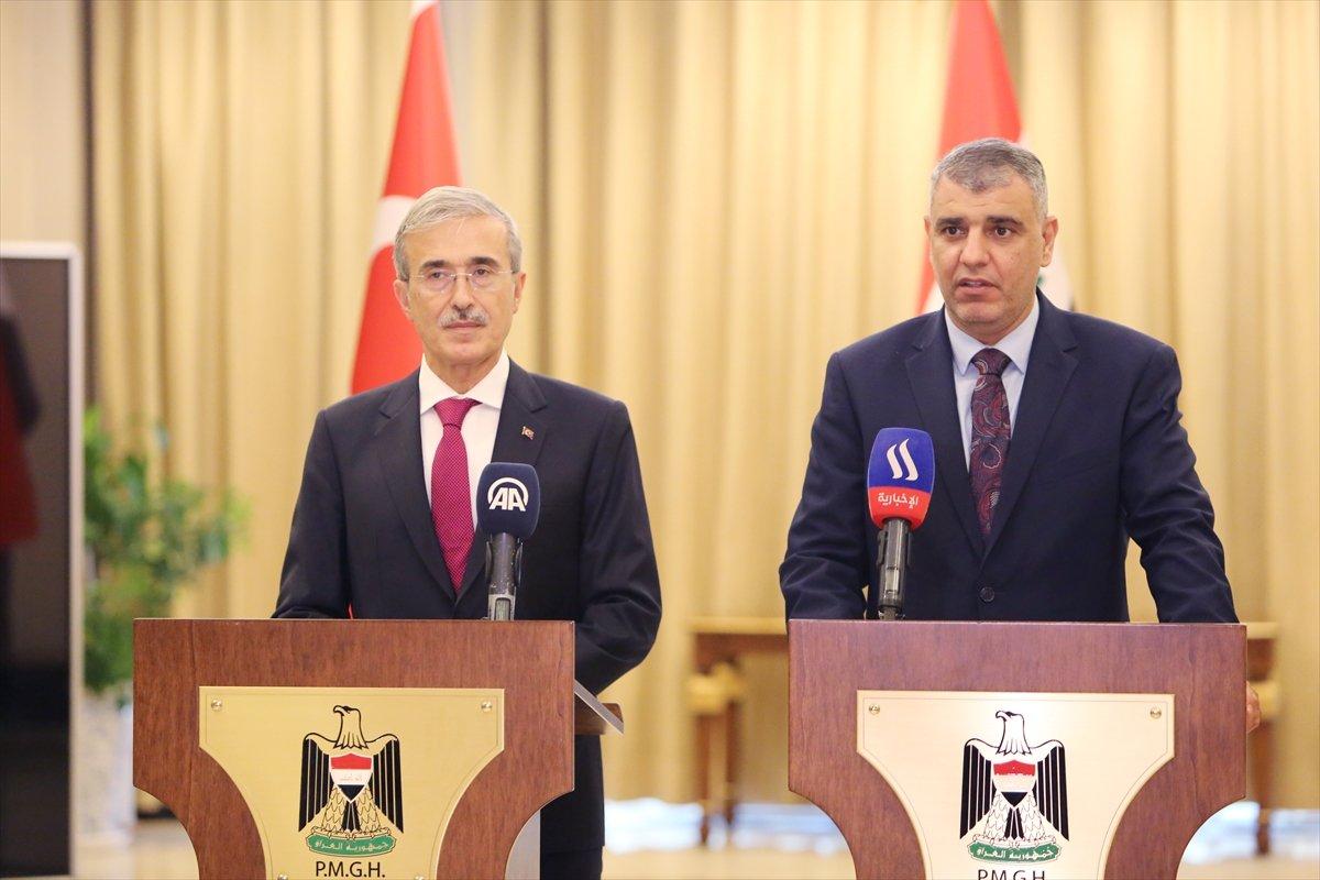 İsmail Demir: Irak ın barış ve istikrarı konusunda atılan adımları destekliyoruz #1