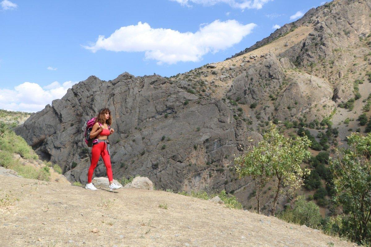 Terörden arınan Kato Dağı nda büyüleyen şelale #4