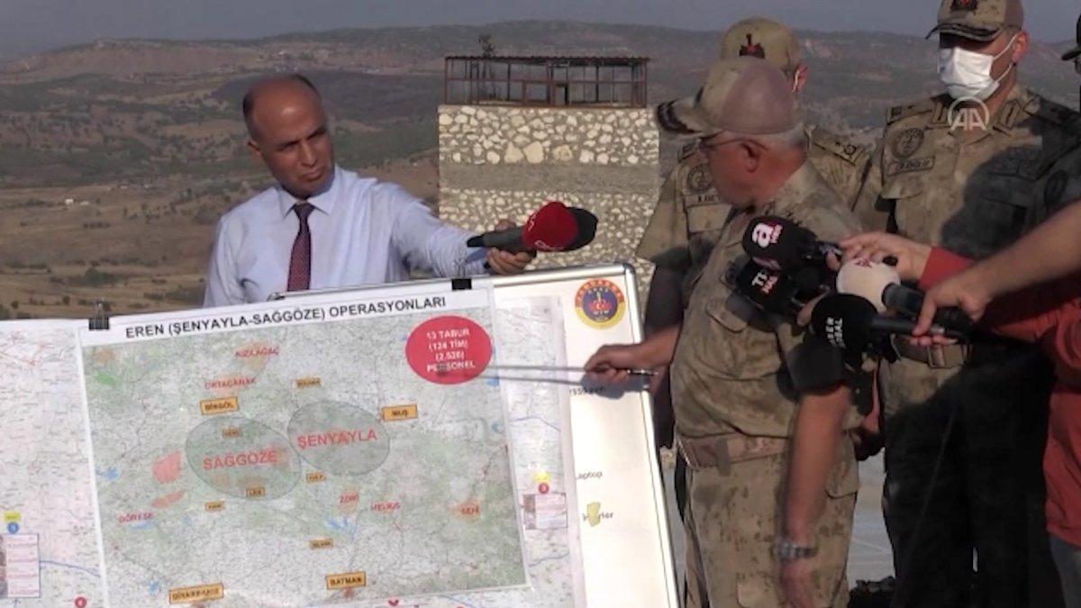 Bingöl, Muş ve Diyarbakır kırsalında Eren operasyonları başlatıldı  #3