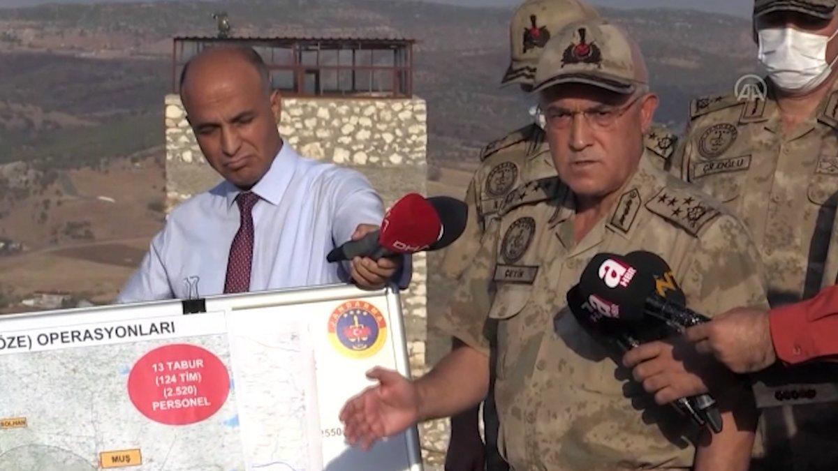 Bingöl, Muş ve Diyarbakır kırsalında Eren operasyonları başlatıldı  #1