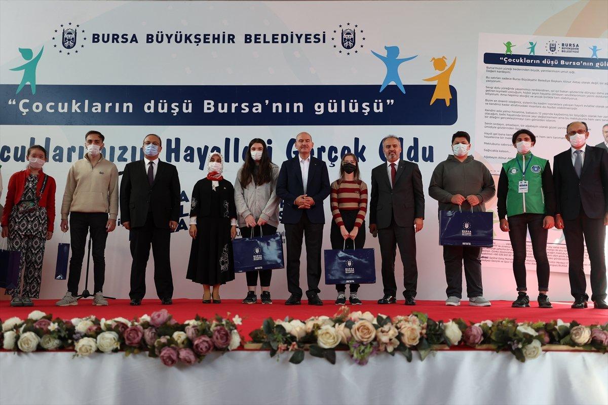 Süleyman Soylu, Bursa da yetim ve öksüz çocuklarla buluştu #6
