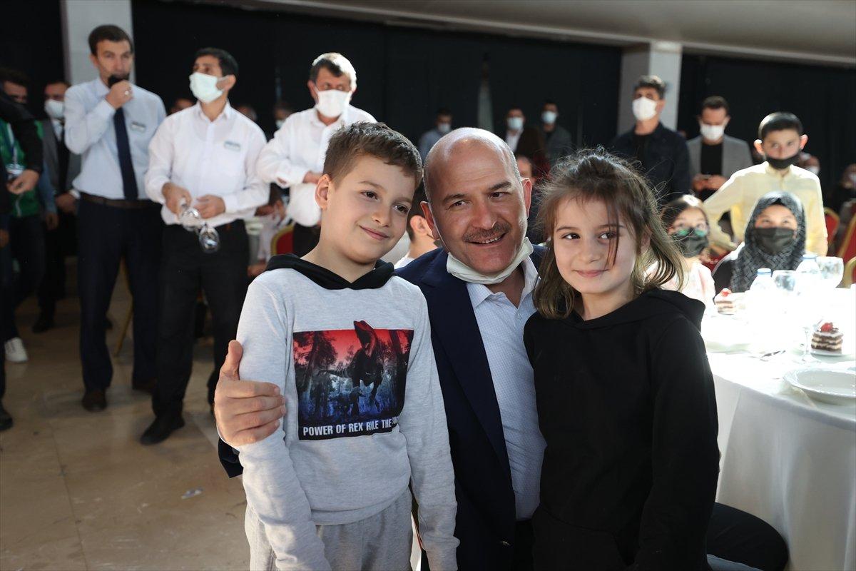 Süleyman Soylu, Bursa da yetim ve öksüz çocuklarla buluştu #3
