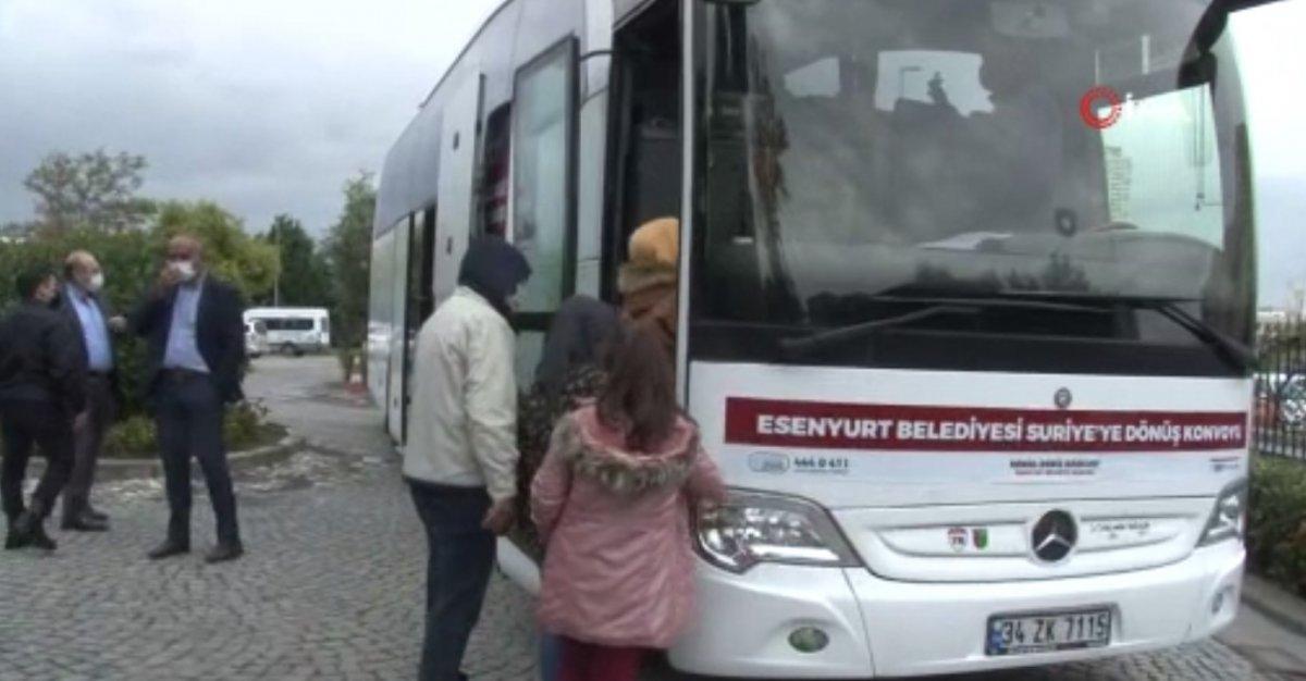 22 Suriyeli daha ülkesine döndü  #3