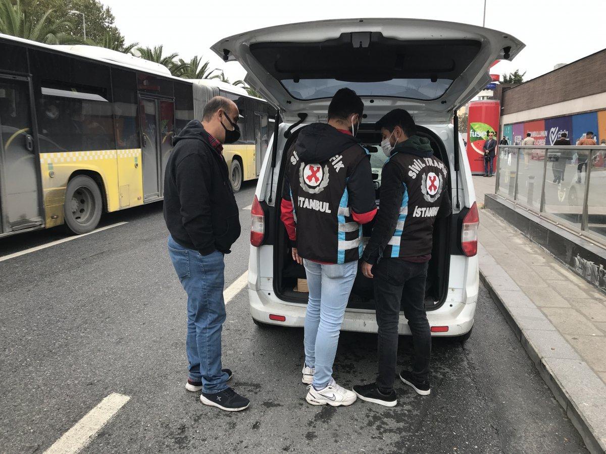 Fatih te polislerden Arap turist kılığında taksi denetimi #2