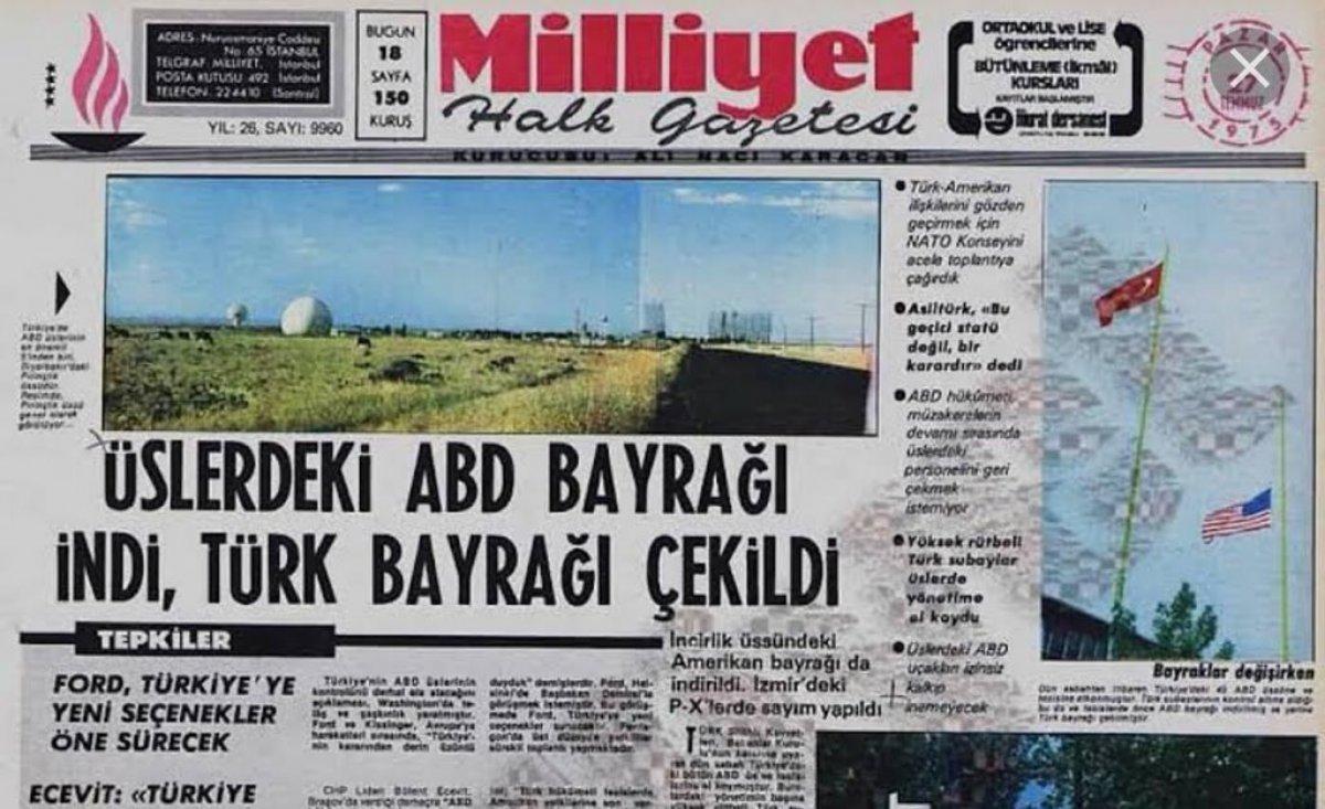 Vakanüvis, ABD den Türkiye ye yapılan silah ambargolarının tarihini yazdı #4