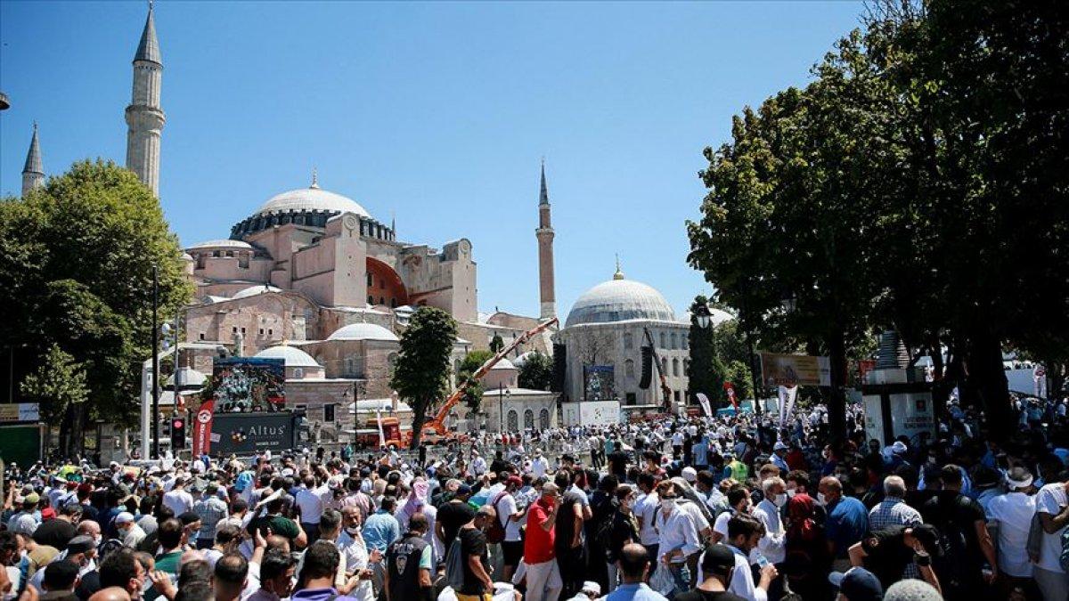 Ayasofya Camii ni 3,5 milyondan fazla kişi ziyaret etti #3