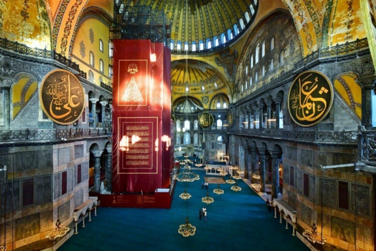 Ayasofya Camii ni 3,5 milyondan fazla kişi ziyaret etti #2