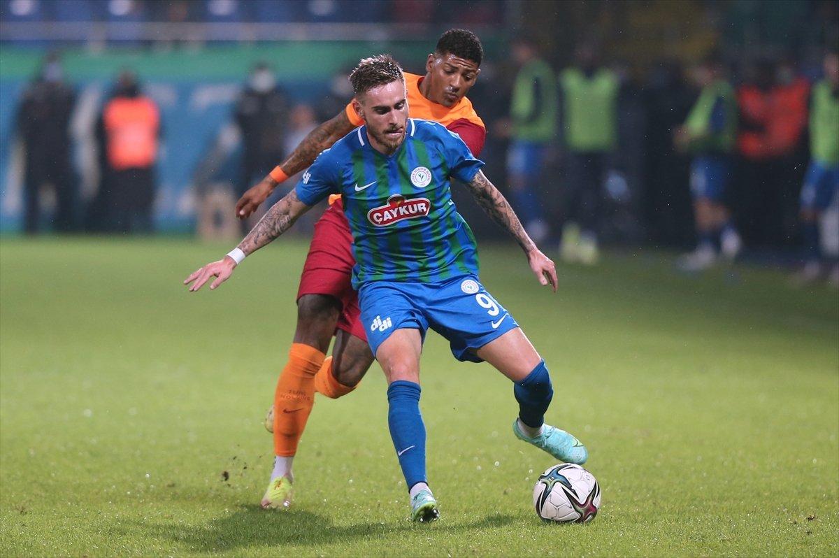 Galatasaray, Rizespor u 3-2 mağlup etti #3