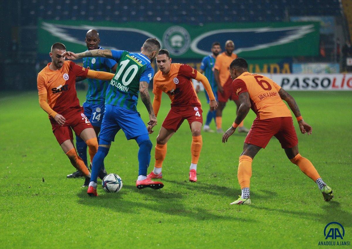 Galatasaray, Rizespor u 3-2 mağlup etti #2