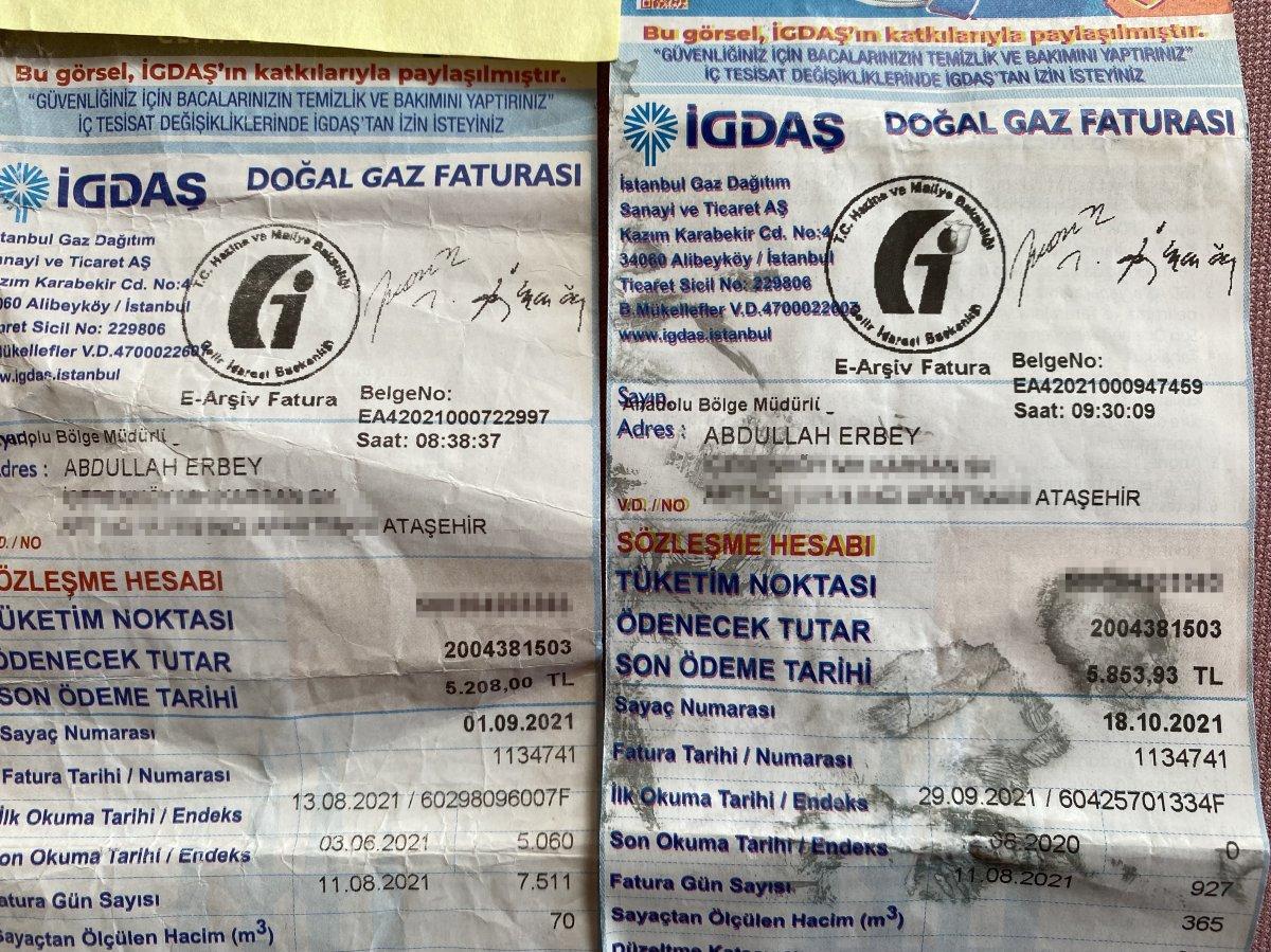 İstanbul da doğalgaz faturası 5 bin lira gelen adam bir şok daha yaşadı #1
