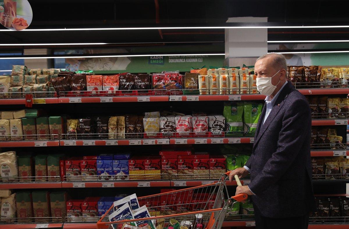 Cumhurbaşkanı Erdoğan: Türkiye genelinde 1000 kadar market açılacak #7