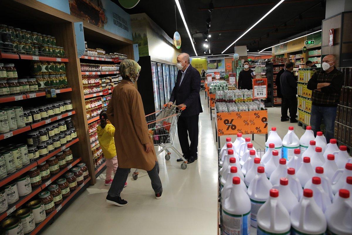 Cumhurbaşkanı Erdoğan: Türkiye genelinde 1000 kadar market açılacak #6