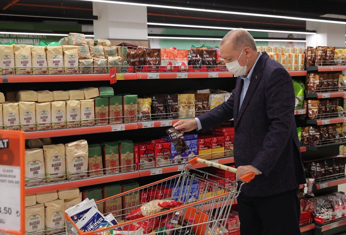 Cumhurbaşkanı Erdoğan: Türkiye genelinde 1000 kadar market açılacak #8