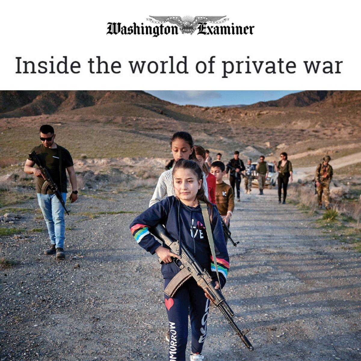 Ermenistan da çocuklara silahlı eğitim veriliyor #1