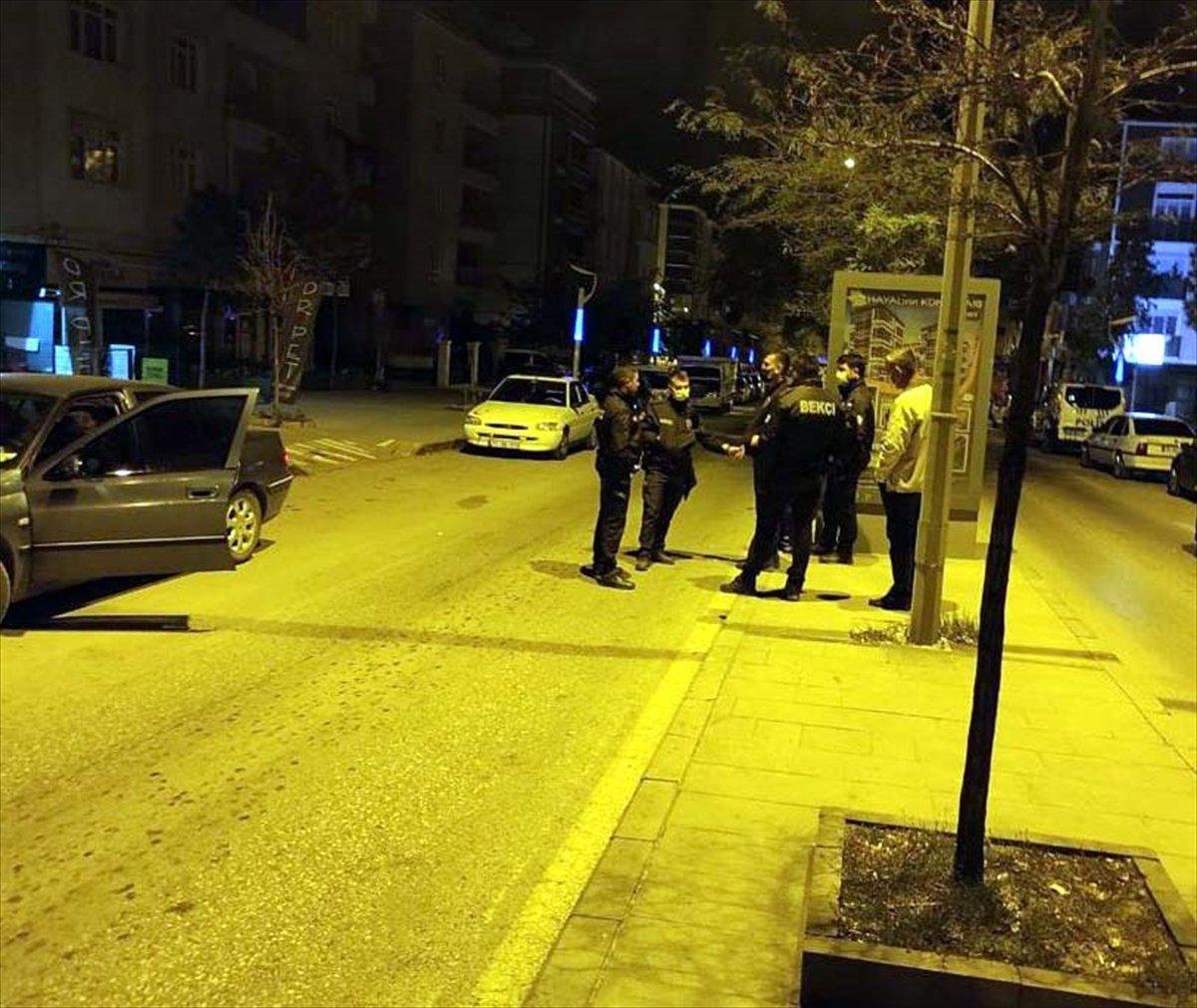 Kırıkkale de karantinayı ihlal ederek bekçiden kaçan kişi, polise yakalandı #3