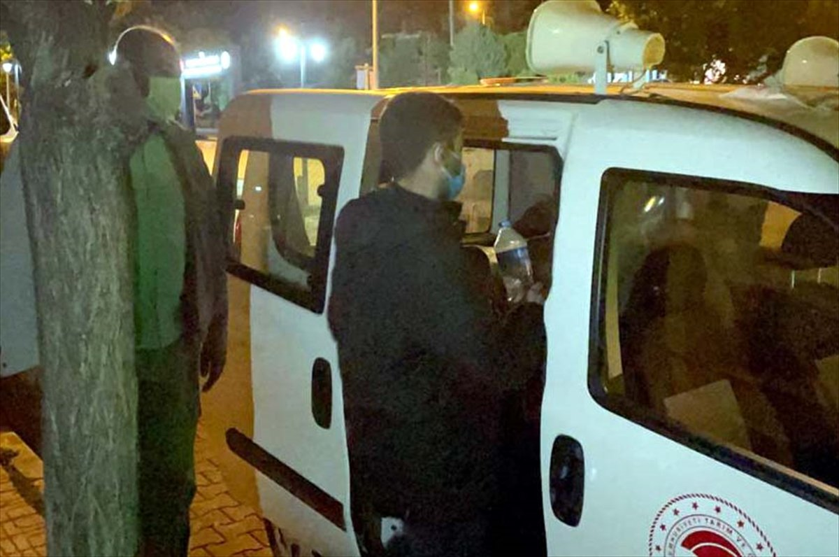 Kırıkkale de karantinayı ihlal ederek bekçiden kaçan kişi, polise yakalandı #2