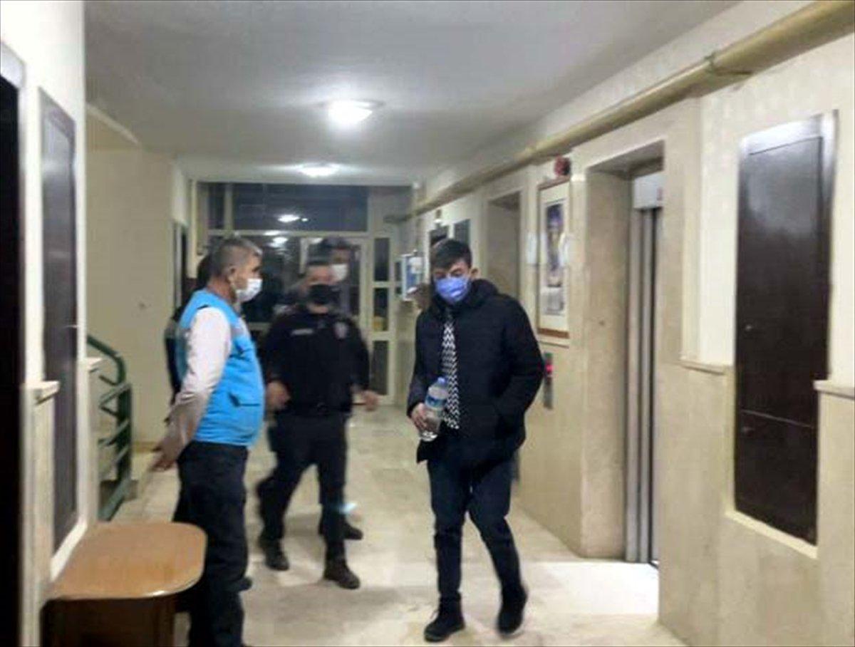 Kırıkkale de karantinayı ihlal ederek bekçiden kaçan kişi, polise yakalandı #1