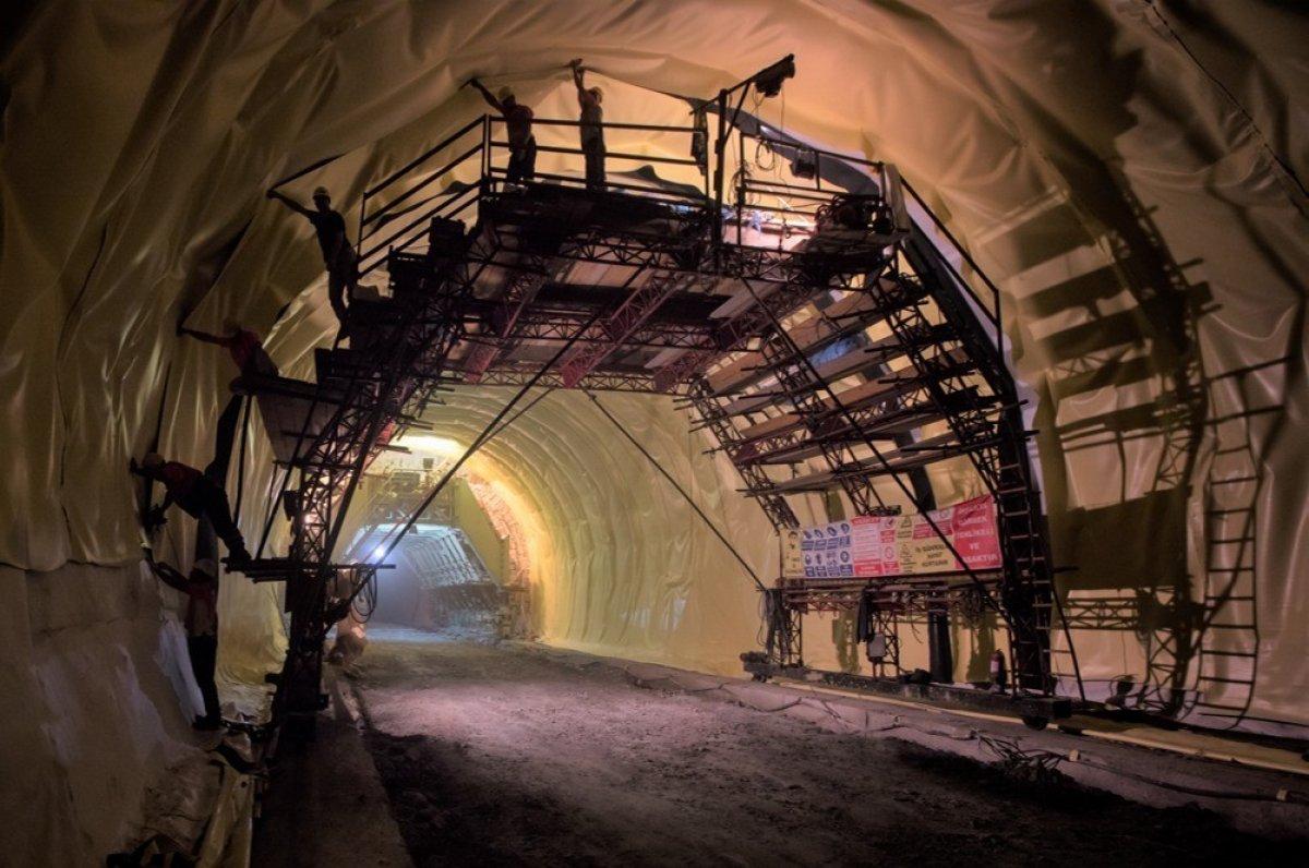 Yeni Zigana Tüneli'nde kazı işlemlerinin yüzde 94'ü tamamlandı #4