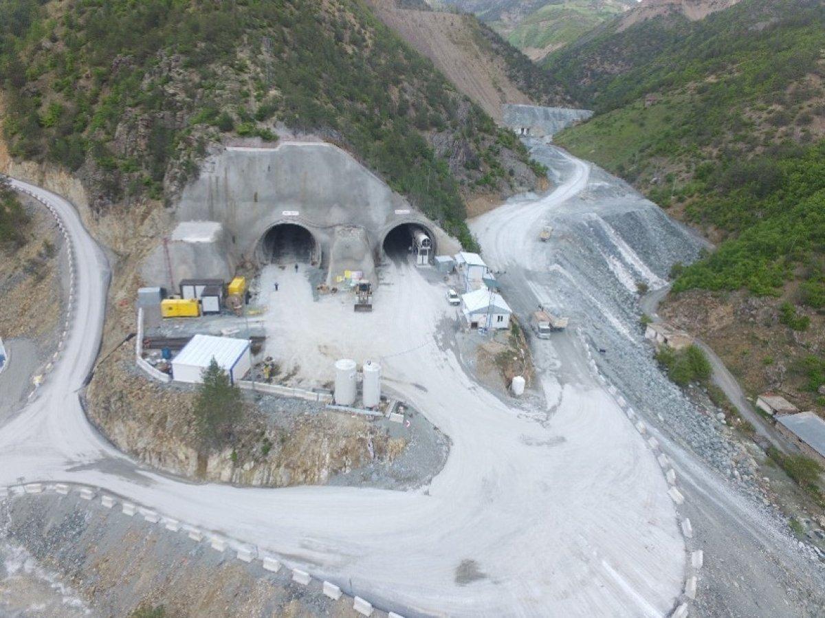 Yeni Zigana Tüneli'nde kazı işlemlerinin yüzde 94'ü tamamlandı #2