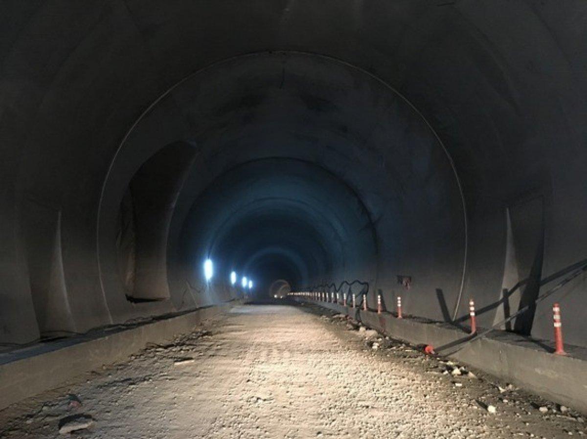 Yeni Zigana Tüneli'nde kazı işlemlerinin yüzde 94'ü tamamlandı #5