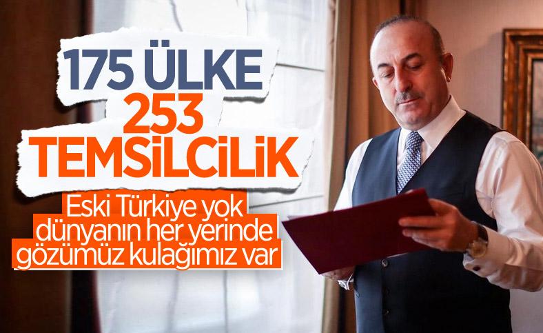 Türkiye, aktif ve çok yönlü dış politikayla dünyanın her yerinde