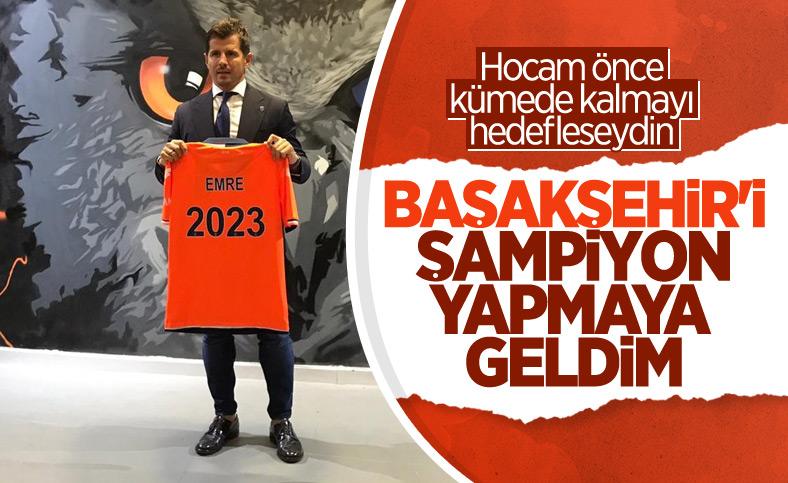 Emre Belözoğlu: Burada olduğum için çok mutluyum