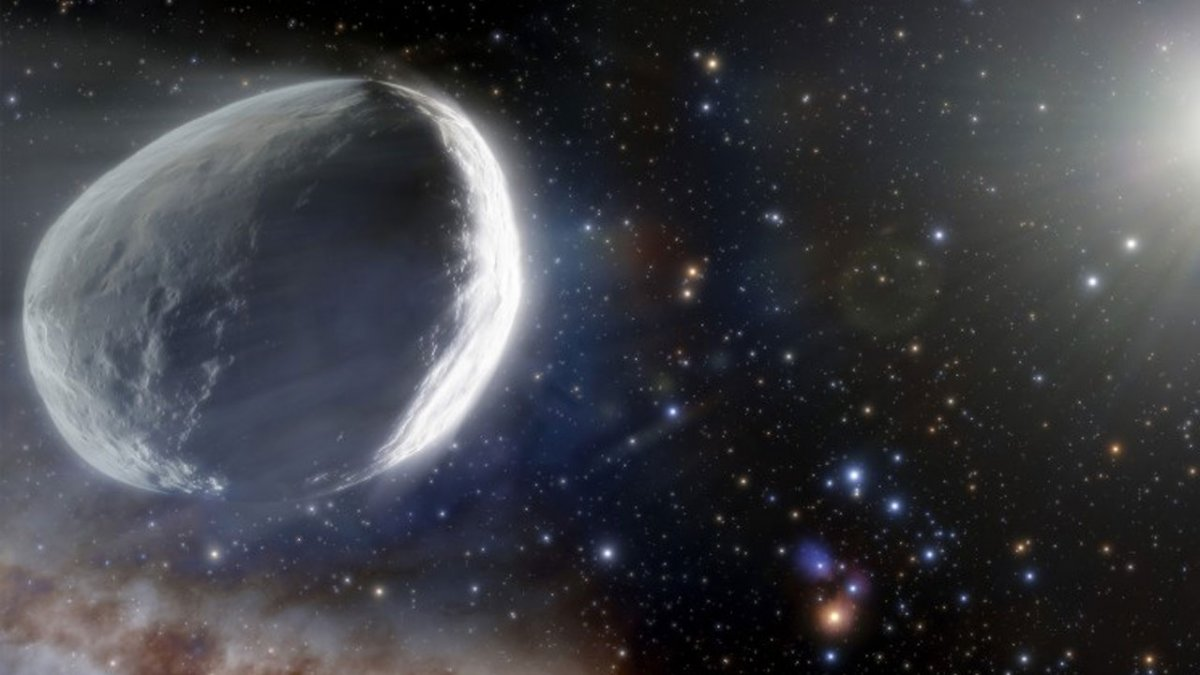 Bilim insanları uyardı: Dev göktaşı Dünya ya yaklaşıyor #1