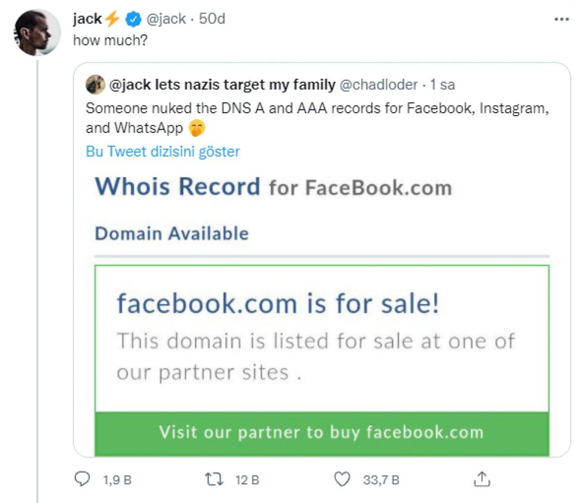 Facebook un alan adı satışa çıktı #1