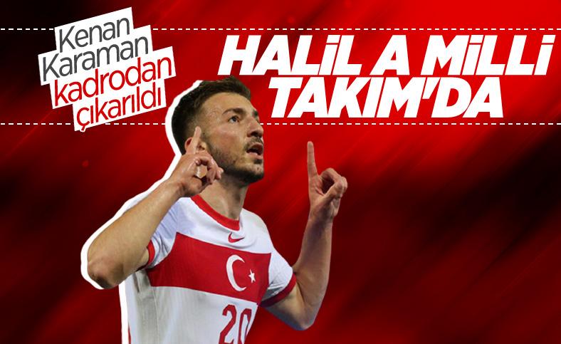 Halil Dervişoğlu, A Milli Takım aday kadrosuna davet edildi